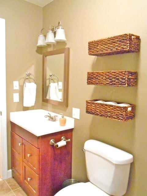 Bathroom Floating Baskets