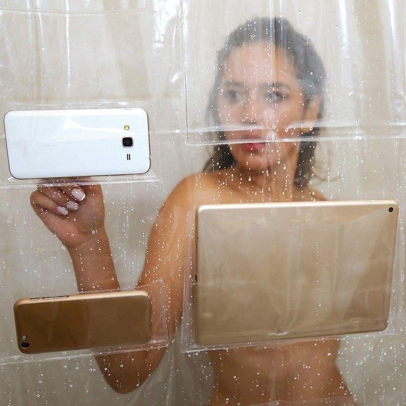 Smart Phone Shower Screen