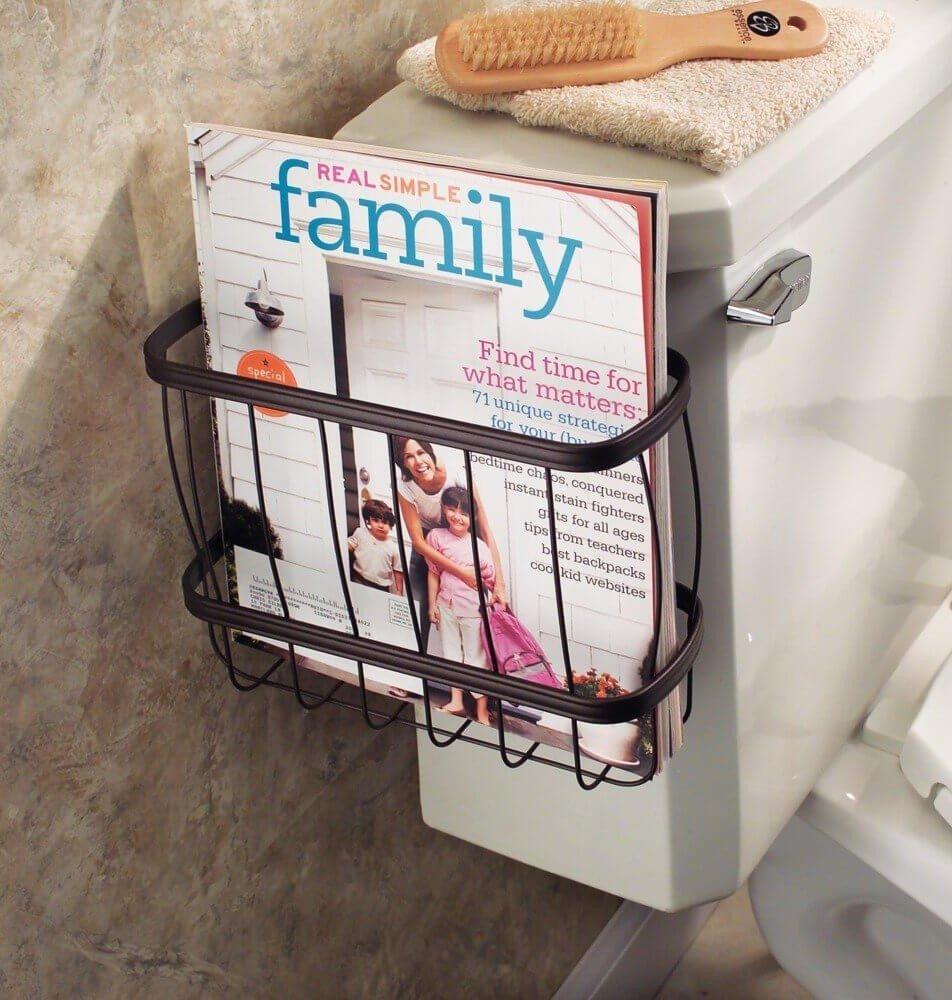Toilet Magazine Rack